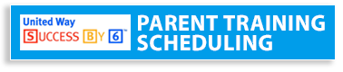 Parent training scheduling