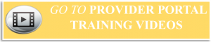 View Provider Portal Training Videos